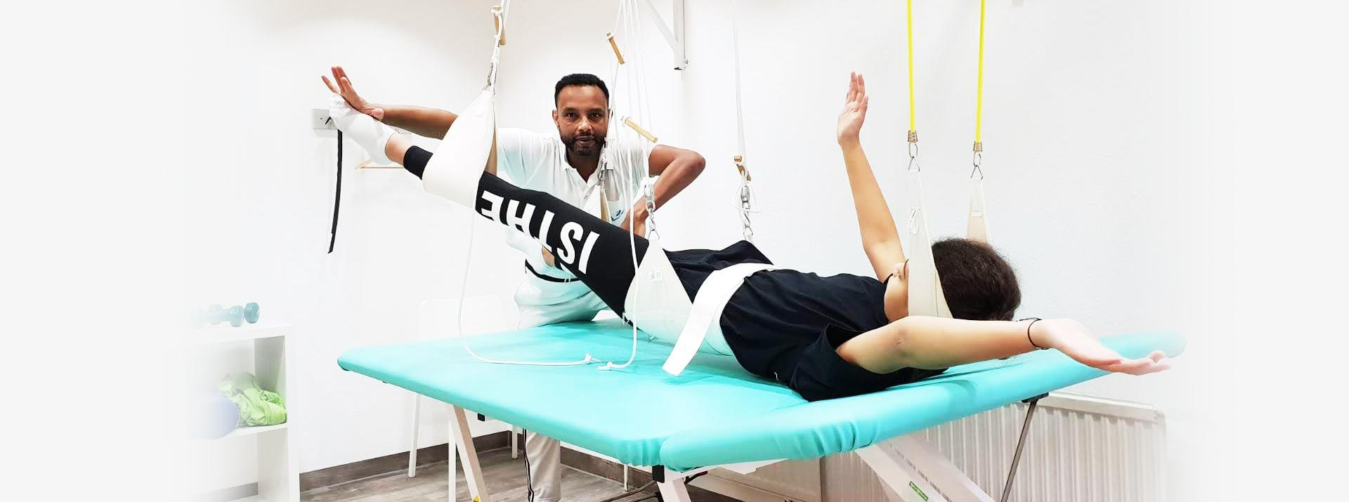 Systematische physiotherapeutische Untersuchung zur Analyse des Bewegungssystems